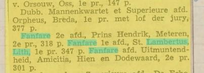 Eerste prijs in 1939
